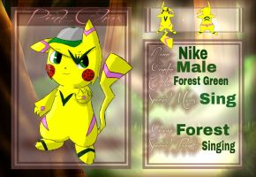 Nike Forest Group Application by Buizelfreak