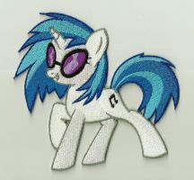 DJ-Pon3 Embroidered Patch by Spaceguy5