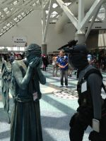 Sam Fisher encounters a Weeping angel by W4RH0US3