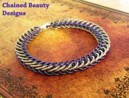 Blue Persian Bracelet by ChainedBeauty