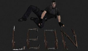 Leon And Guns by Ada-hime