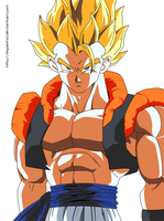 Dragon Ball Z Gogeta Paint 1 by Esperino