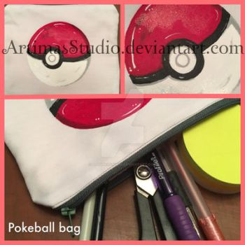 Pokeball bag by ArtimasStudio