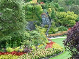 Butchart Gardens 11 by raindroppe