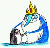 Ice King and Gunter by acid-drinker