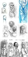 20130423 - Sketchdump Here Be Voodoo 01 by kineko