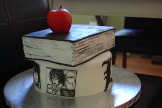 death note cake by sydney96