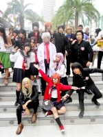 Cosplay: Gintama 3z by Junez-chan