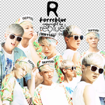 REBLUEs PNG Teen Top Set 01 7P by l0vehcl