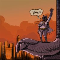 Too Early for Batman by claudetc