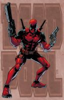 Deadpool Colors by JeremyColwell