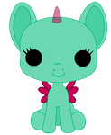 Mlp funko Pop base by TwitterShy