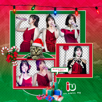 314|IU|Png pack|#09| by happinesspngs