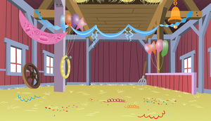 Party Barn Background by GoblinEngineer