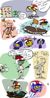 Turbo, doodles 2 by Ayej