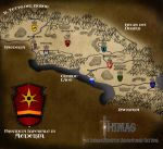 The Aederia Region Map by Insane--Monster