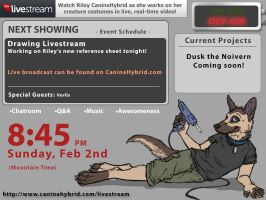 Drawing Livestream [Off Air] by CanineHybrid