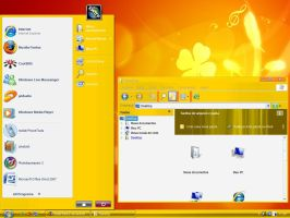 Vista Live Yellow for XP by Nait0