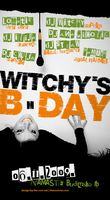 Witchys bday 2009 Flayer by rootout