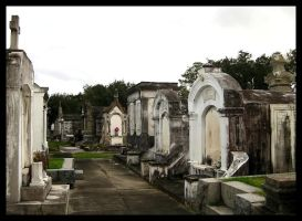 Metairie Cemetery Tombs by SalemCat