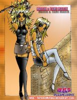 YGO:Marik and Yami Marik 10 by XtremeMiruka
