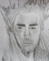 The Hobbit - Thranduil by DeadPOOL-PARTY