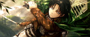 Levi Rivaille - Banner by GalaxieSTUDIOS