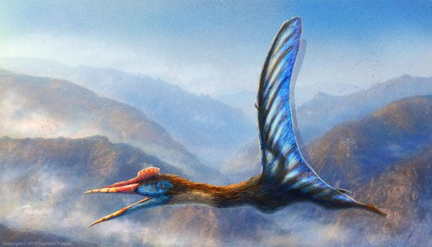 Quetzalcoatalus Northropi Restored by TheDragonofDoom