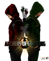 The Archers of Starling by IronAvenger1234