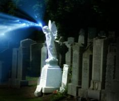 Angel of The Grave by MoonlitxReverie