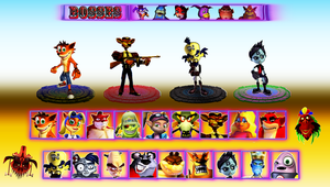 Crash Bash 2 (My Roster) by DENDEROTTO