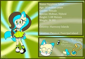 (OLD).:Reference sheet - Sapphire:. by sonicsilver12