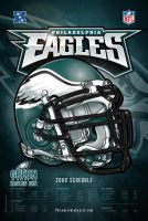 Philadelphia Eagles Poster by jpnunezdesigns