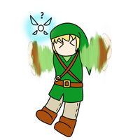 Link Can't Talk by Floating-Hobbit
