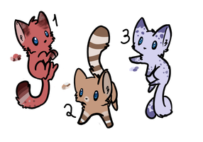 Kitten Adoptables :OPEN: by Skylar-Adopts