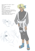 Kuro Chara Sheet by lucrecia