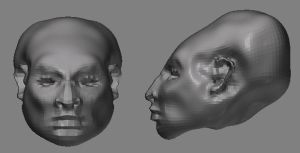 first zbrush model by deepset