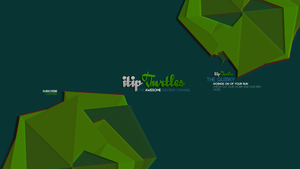 New youtube layout - Itipturtles banner by fxchannelhouse