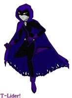 the crow styli teen titans by t-lider