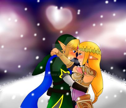 Zelink - Winter time by Gina1991
