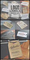 Logo Labels Mock-ups Vol.1 by sandracz