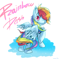 Rainbow Dash by cheerubi