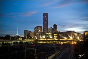 Federation Square by MarkHumphreys