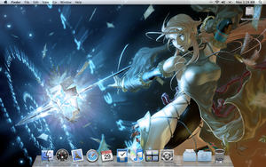 My OSX Desktop - Warsong by BlackCross616