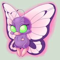 Butterfree by Smileplume