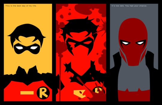 Evolution of Jason Todd by phil-cho