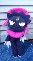 Commish- Weavile Plushie by Fyuvix