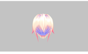 MMD Cute hair NJXA by amiamy111