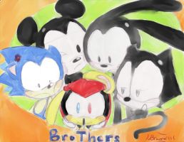 Those Brothers... by Toykochibi3