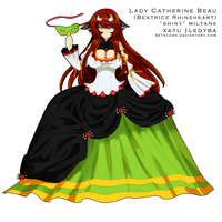 PP: Red moon festival gown by Betachan